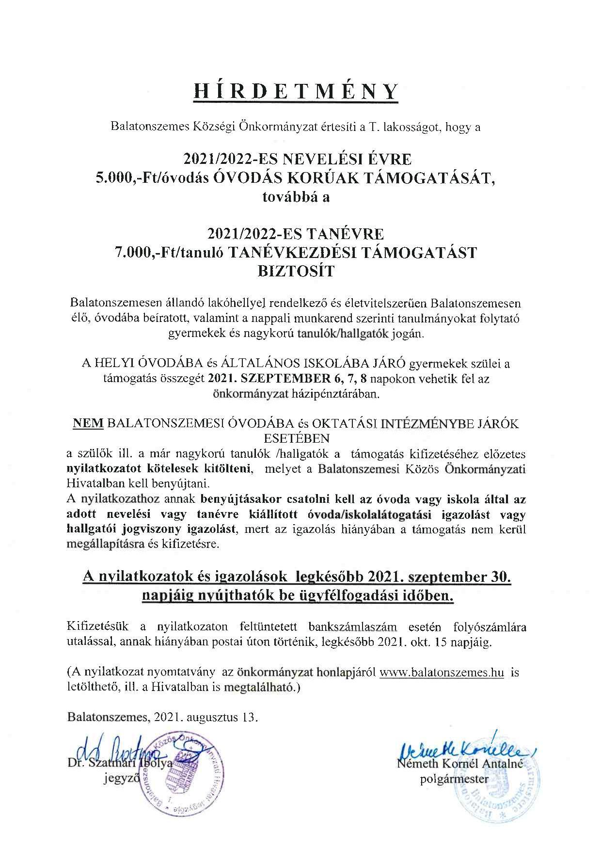Plakat TANEVK2021 page 001 Beiskolázási támogatás