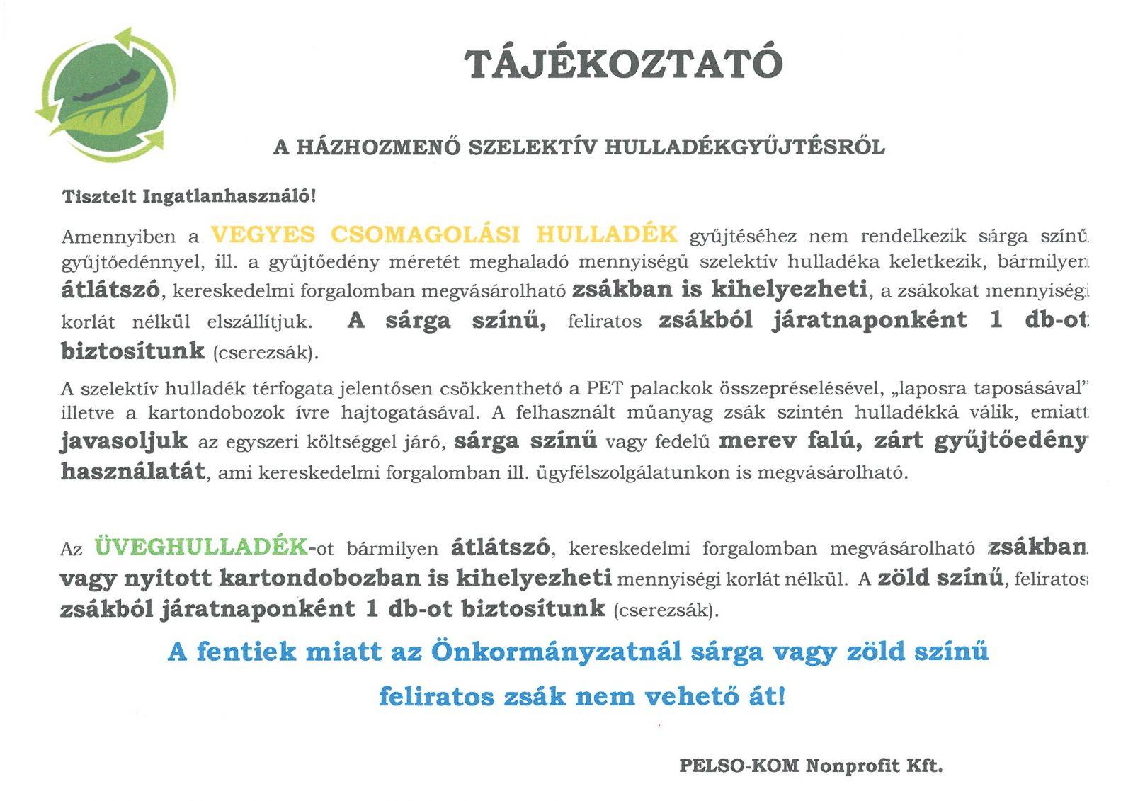 SKMBT C360200706154211 A PELSO-KOM tájékoztatója