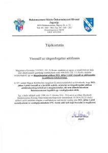 IFA 2021 BSZ page 001 Idegenforgalmi adófizetés