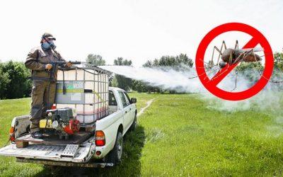 Tájékoztató földi szúnyoggyérítésről