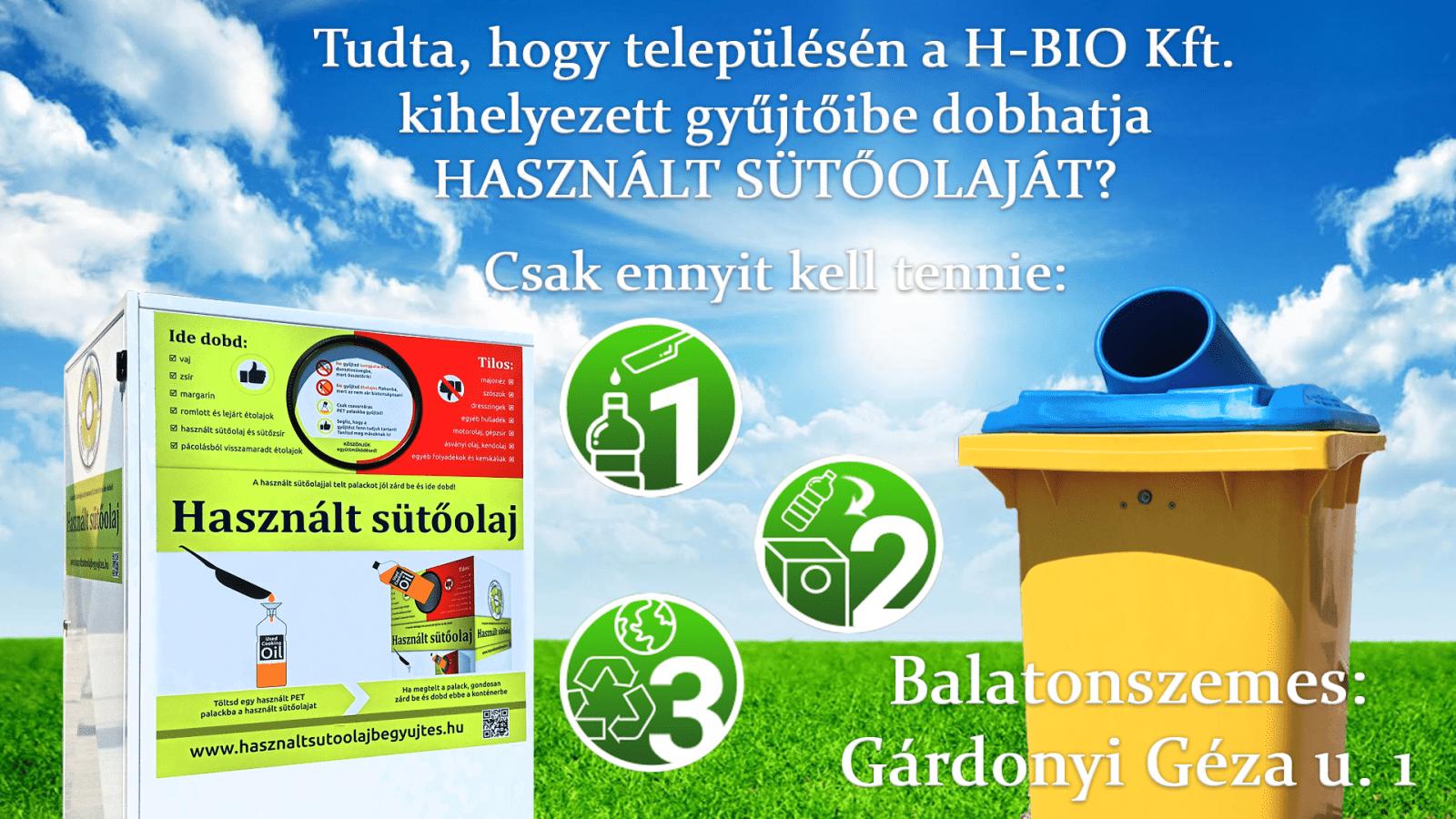 sutoolaj gyujto Kihelyezett használt sütőolaj gyűjtő konténer