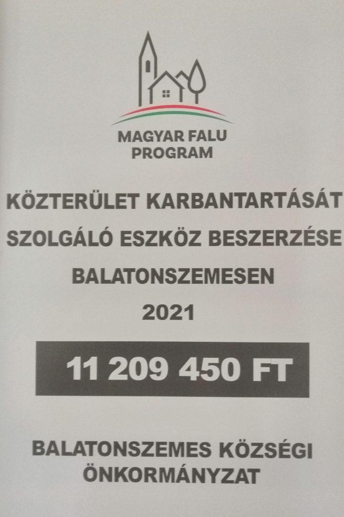 IMG 20210712 122603 Közterület karbantartását szolgáló eszköz beszerzése