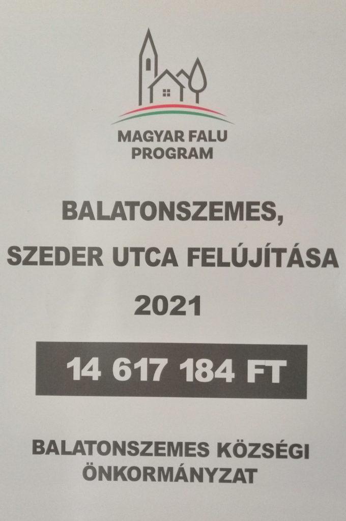 IMG 20210712 122625 Szeder utca felújítása